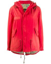 Mr & Mrs Italy Непромокаемая Куртка На Молнии - Красный
