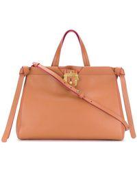 db50bd1cb4 Lyst - Sac à main Birkin en cuir Hermès en coloris Marron