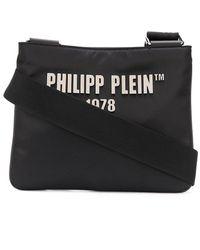Philipp Plein Сумка На Плечо С Нашивкой-логотипом - Черный