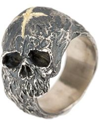 Tobias Wistisen - Cross & Skull Ring - Lyst