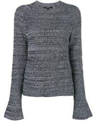 Derek Lam ベルスリーブ セーター - ブラック