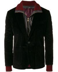 Dolce & Gabbana - Padded Jacket Lined Corduroy Blazer - Lyst