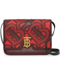 74221513d6ce Lyst - Burberry The Small Buckle Bag In Leather And Snakeskin ...