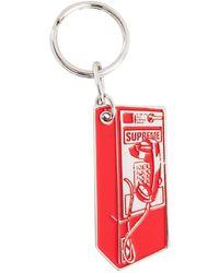 Supreme Payphone Keychain - Red
