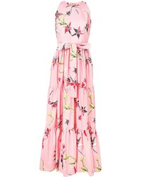 LaDoubleJ Платье Pellicano Americano - Розовый