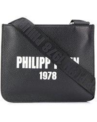 Philipp Plein Logo-print Messenger Bag - Black