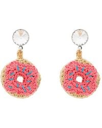 Venessa Arizaga - Doughnut Earrings - Lyst
