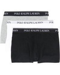Polo Ralph Lauren ロゴウエスト ボクサーパンツ - ブラック