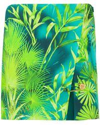 Versace パームツリー スカート - グリーン