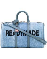 Diesel Red Tag Weekendtas - Blauw