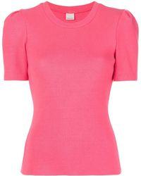 Cinq À Sept Julie スリムフィット Tシャツ - ピンク