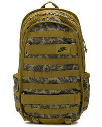 Nike Рюкзак С Узором Пейсли - Зеленый