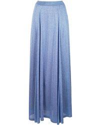 Missoni メタリック スカート - ブルー