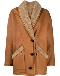 Isabel Marant - Cappotto monopetto - Lyst