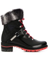 Rossignol Megève Lace Up Boots - Black