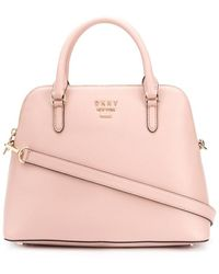 DKNY Whitney Dome Tote Bag - Pink