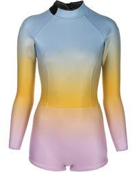 Cynthia Rowley Sea Ombre Wetsuit - Blue