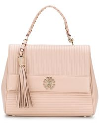 Roberto Cavalli - Quilted Logo Tote - Lyst