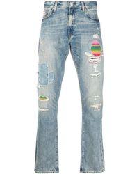 Polo Ralph Lauren 'Sullivan' Jeans in Distressed-Optik - Blau