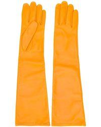 Maison Margiela Длинные Перчатки - Желтый