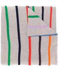 Allude - Striped Scarf - Lyst