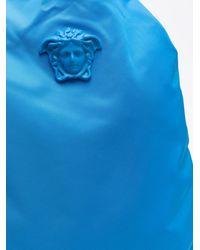 Versace Medusa Logo Backpack - Blue