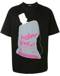 Kolor グラフィック Tシャツ - ブラック