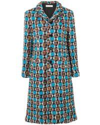 Marni - Tweed Coat - Lyst