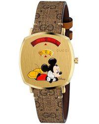 Gucci X Disney Mickey Mouse 腕時計 - マルチカラー