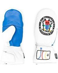 Rossignol Printed Sheepskin Gloves - White