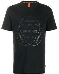 Raeburn Logo Print T-shirt - ブラック