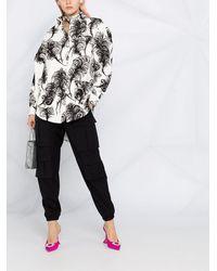 Moschino マルチポケット シャツ - ホワイト