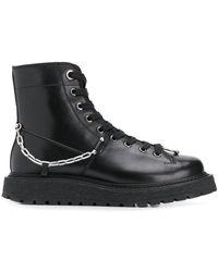 Neil Barrett チェーン ブーツ - ブラック