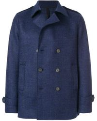 Harris Wharf London - Oversized Double-breasted Jacket - Lyst