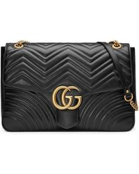 Gucci - Sac porté épaule GG Marmont - Lyst