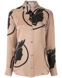 Amir Slama Рубашка С Принтом Índio - Многоцветный