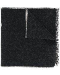 Etudes Studio ロゴ スカーフ - ブラック
