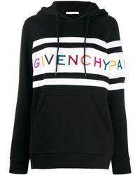 Givenchy ロゴ パーカー - ブラック