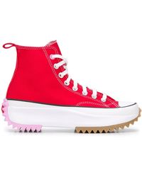 Converse Baskets montantes Run Star Hike - Rouge