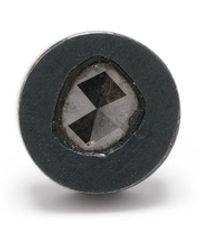 Parts Of 4 Pendiente con diamante - Negro