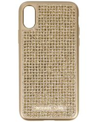 MICHAEL Michael Kors - Crystal Studded Iphone X Case - Lyst