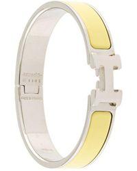 Hermès H Logo Clic Clac Bracelet - Multicolour