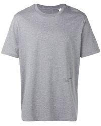 OAMC - Back Photo Print T-shirt - Lyst