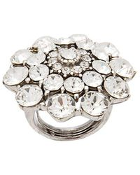 Oscar de la Renta - Jeweled Ring - Lyst