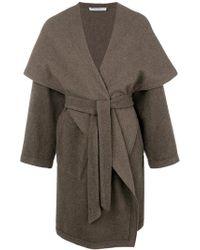 Dusan - Belted Oversized Coat - Lyst