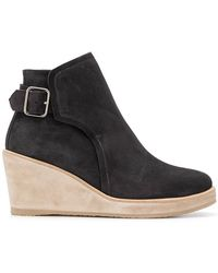 A.P.C. - Wedged Ankle Boots - Lyst
