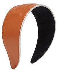 Fendi Ободок С Тисненым Логотипом - Черный