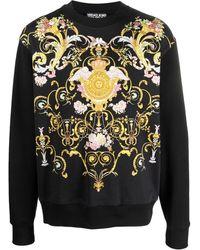 Versace Jeans Couture バロッコ スウェットシャツ - ブラック