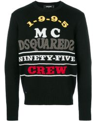 DSquared² - Ninety-five Crew Jumper - Lyst