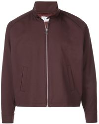 Second/Layer Zipped Jacket - Red